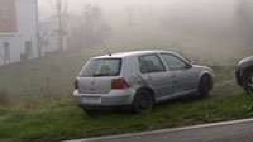 Incidente a Cailungo: coinvolti due veicoli con targa sammarinese