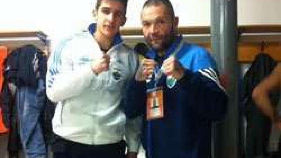 Diego Frisoni con Armando Bellotti