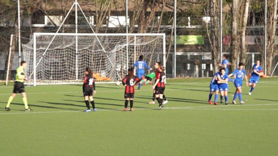 San Marino Academy - LuccheseCalcio femminile: la San Marino Academy strapazza la Lucchese