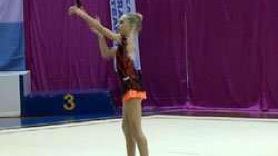 Ginnastica Ritmica: Lucia Castiglioni ha vinto il Campionato Sammarinese