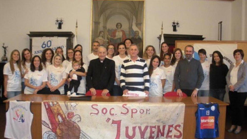 """""""JUVENES VOLLEY celebra il 65° della Società Sportiva"""""""