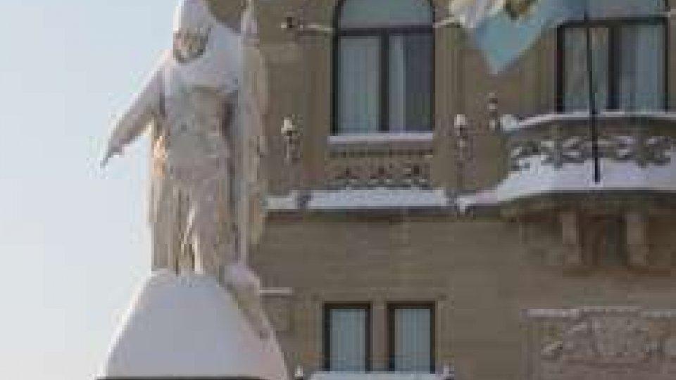Palazzo PubblicoLa neve fa slittare Consiglio, Commissioni e Consiglio Giudiziario Plenario
