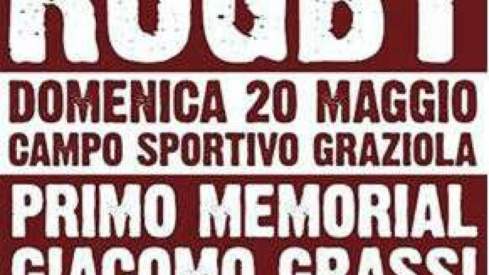 Il Rugby Club San Marino al torneo Memorial di Faenza domenica 20 maggio