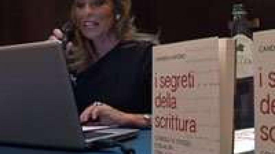 """In anteprima il libro """"I segreti della scrittura"""" della grafologa LivatinoIn anteprima il libro """"I segreti della scrittura"""" della grafologa Livatino"""