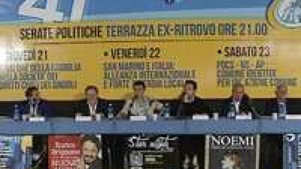 Festa dell'Amicizia: rapporti con l'Italia al centro del confronto politicoFesta dell'Amicizia: rapporti con l'Italia al centro del confronto politico