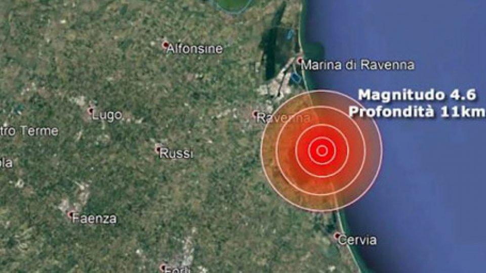 """L'epicentroTerremoto Ravenna, vertice in Prefettura. Protezione Civile San Marino: """"Serve informazione"""""""