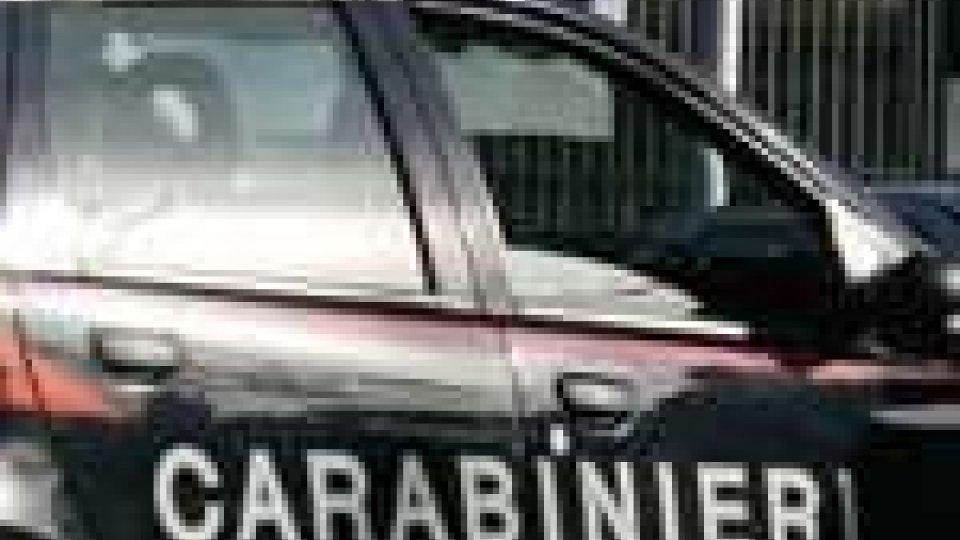 Carabinieri: nel week end un arresto a Riccione e uno a Rimini