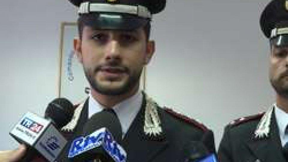 Il Comandante dei Carabinieri di Riccione Marco CalifanoCattolica: perseguitava la ex; arrestato dai Carabinieri