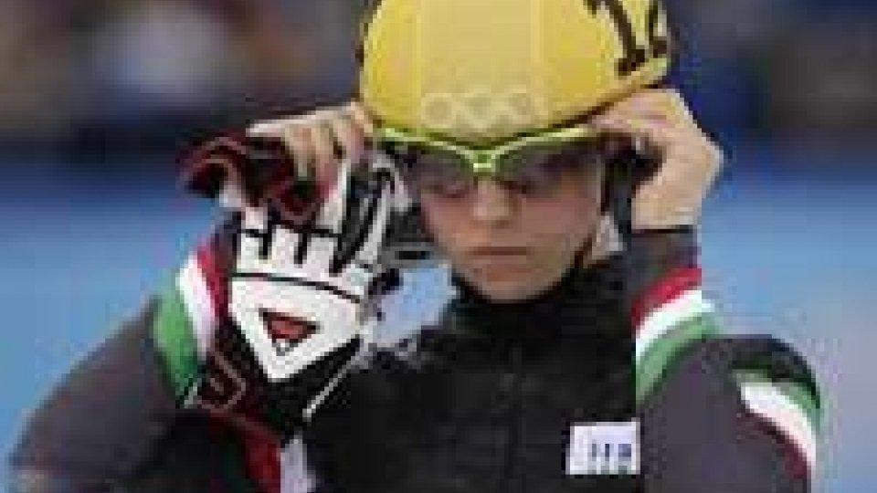 Sochi: Fontana esce ai quarti nei 1000 m.