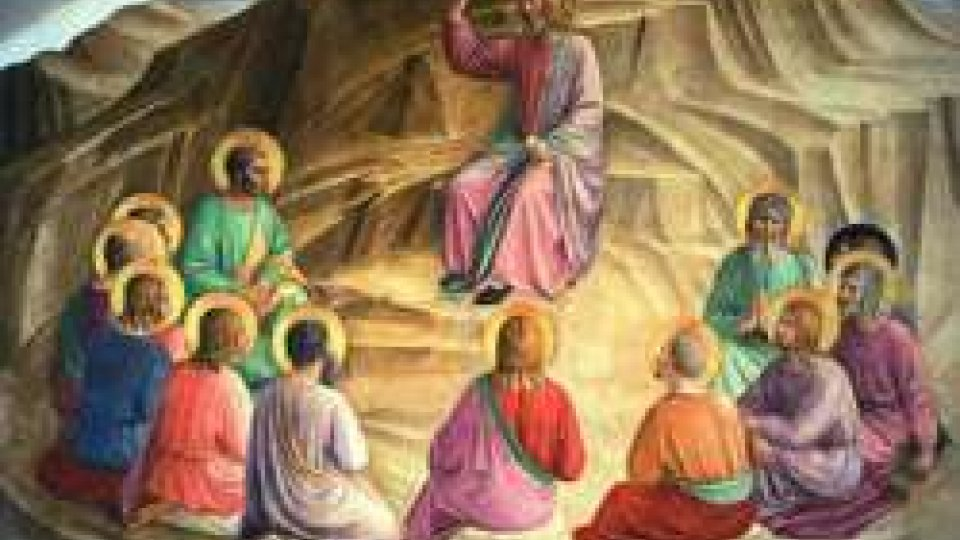 Seconda Via Crucis Sant'Igne-San Leo promossa da Comunione e Liberazione, guidata dal Vescovo S.E. Andrea Turazzi
