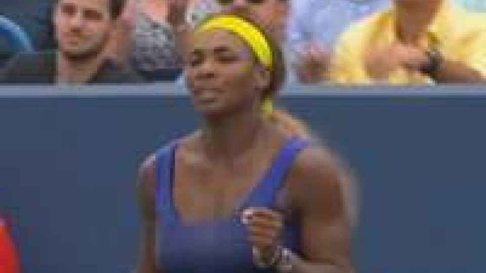 Tennis: finali secondo pronostico a Cincinnati. Serena Williams travolge la Ivanovic.Tennis: Finali secondo pronostico a Cincinnati. Federer supera in tre set, lo spagnolo Ferrer mentre Serena Williams travolge la Ivanovic.