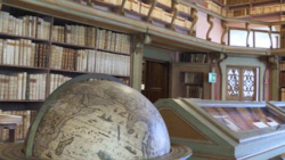 La Biblioteca Gambalunga a RiminiLa più bella (BIBLIOTECA) del mondo: GAMBALUNGHIANA