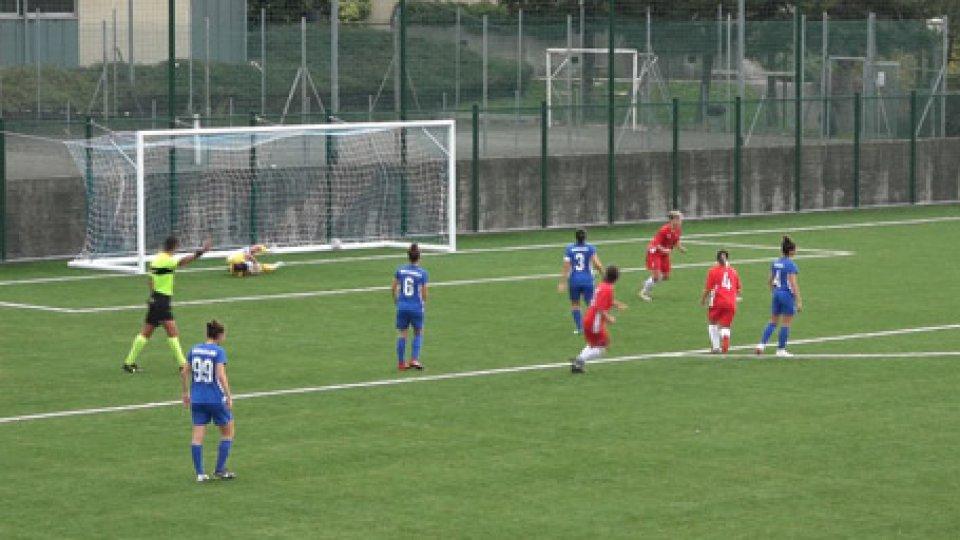 San Marino Academy-JesinaScivolone casalingo della San Marino Academy sconfitta 3-1 dalla Jesina. Di Giulia Baldini il gol delle biancazzurre
