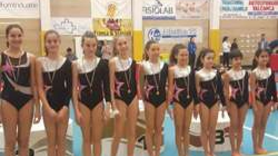 A.S.D. Riminigymteam al campionato regionale di Ginnastica Artistica UISP