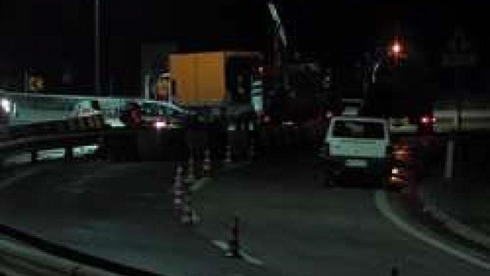 Polizia CivileMortale: i lavori a Borgo per ripristinare la viabilità