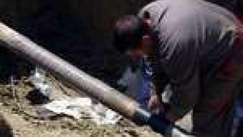 San Marino - Rovereta e Falciano senza acqua per la rottura di un tubo. Ripristinato il servizio