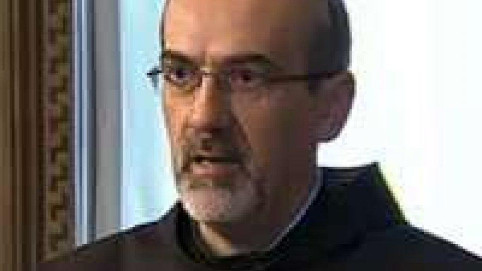 Insediamento Reggenza: il discorso dell'oratore ufficiale, Padre Pizzaballa1° Ottobre: intenso il momento dell'orazione ufficiale