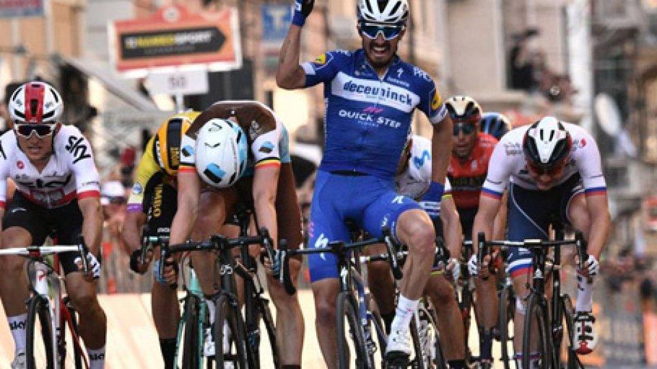 Milano–San Remo trionfa Julian Alaphilippe