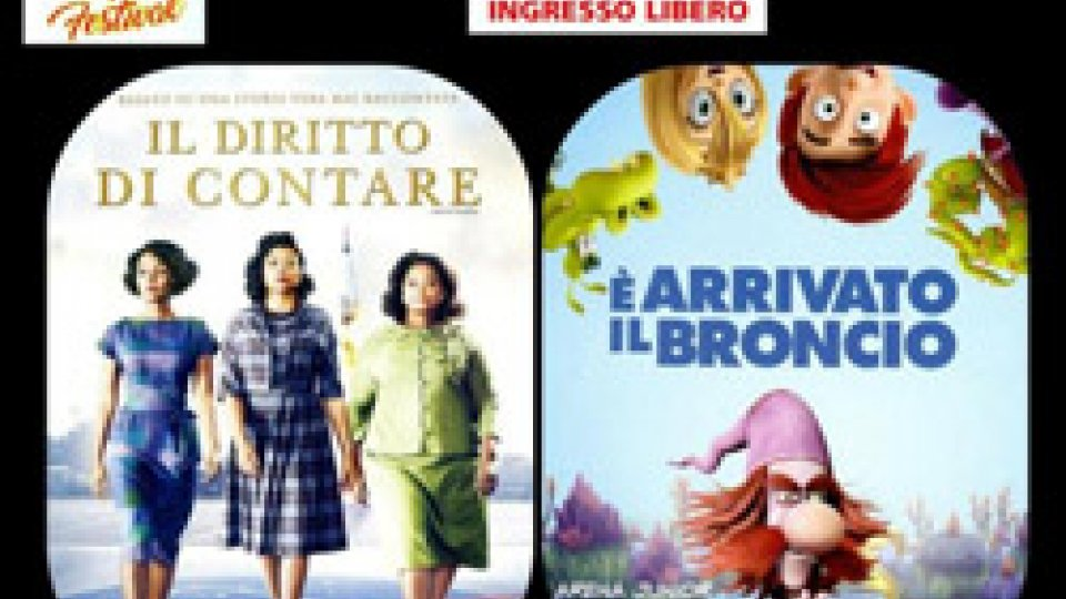 FILM PER TUTTI al CINEFORUM FILM FESTIVALpresso l'esterno della Casa LAIALA a SERRAVALLE (RSM)