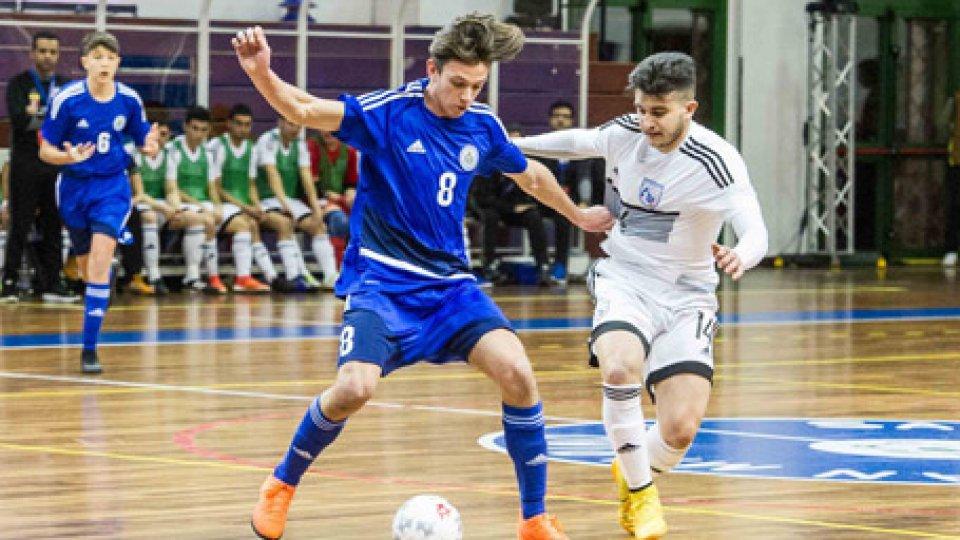 @FsgcEuro Futsal U19: Cipro supera San Marino, riscatto Svezia