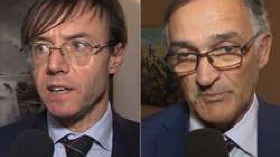 Iro Belluzzi e Giancarlo Capicchioni