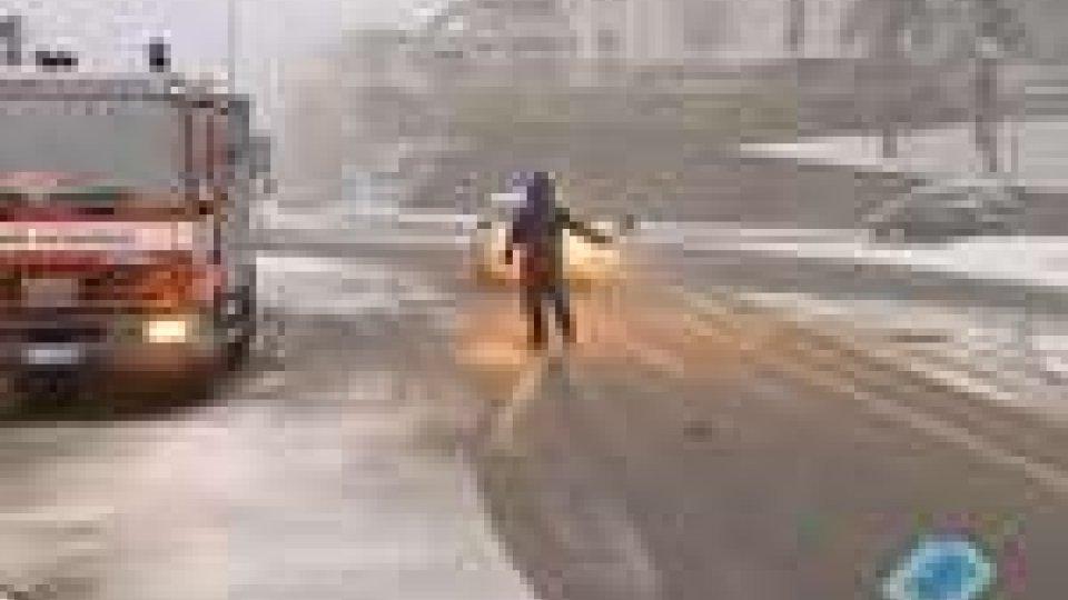 San Marino - Torna la neve in RepubblicaTorna la neve in Repubblica