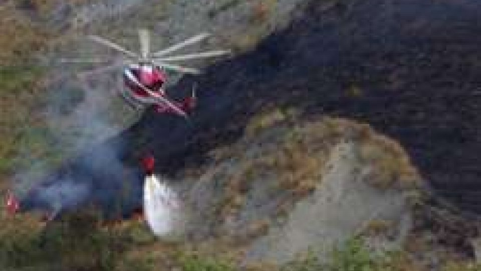 Rischio incendi boschivi: attenzione massima sul Titano