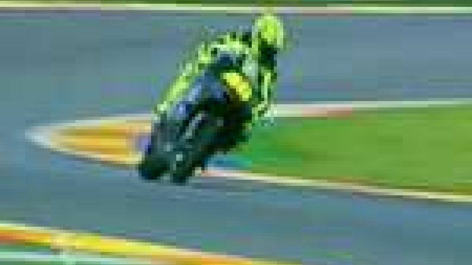 Test MotoGp a Valencia: Stoner il più veloce. Rossi lavora sul motore