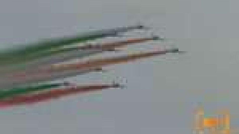 Le Frecce Tricolori a Milano Marittina