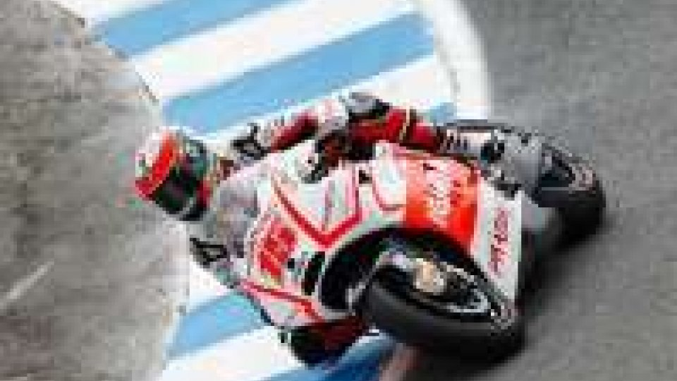 Moto GP, Laguna Seca: De Angelis in pista.De Angelis: la MotoGP tre anni dopo