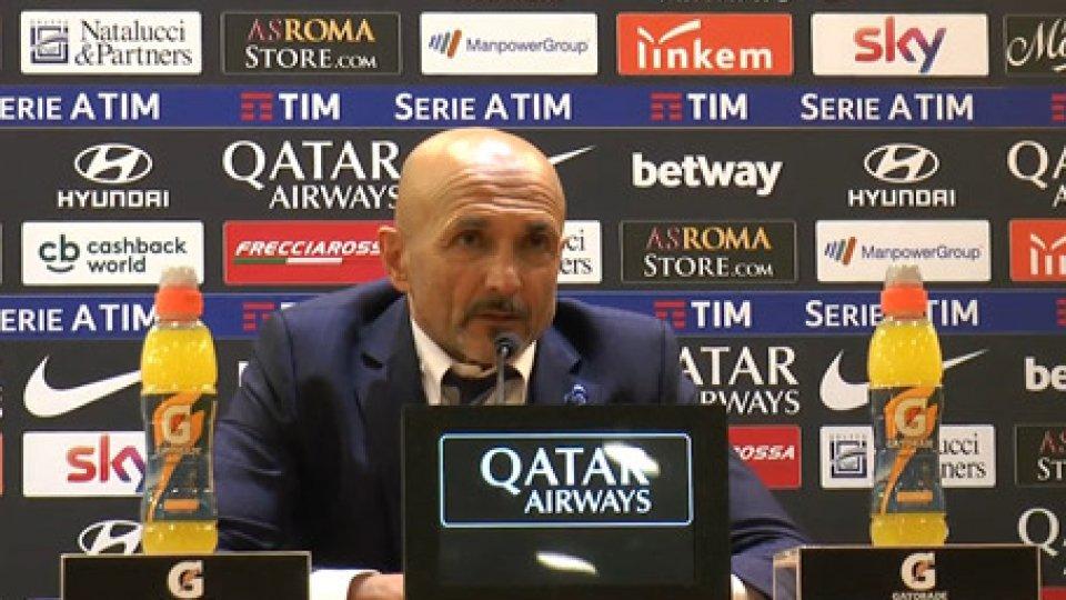 LucianoSpallettiRoma -Inter 2-: l'analisi di Spalletti