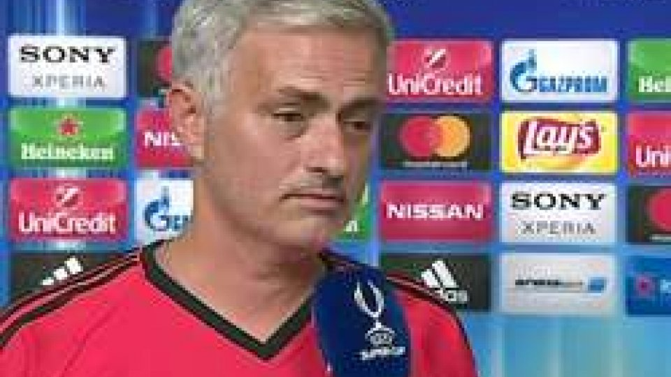 MourinhoStasera Real Madrid-Manchester United vale la Supercoppa Europea