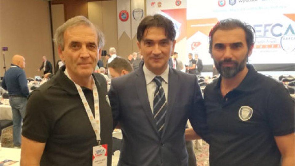 Giampaolo Mazza, Zlatko Dalic e Pierangelo Manzaroli
