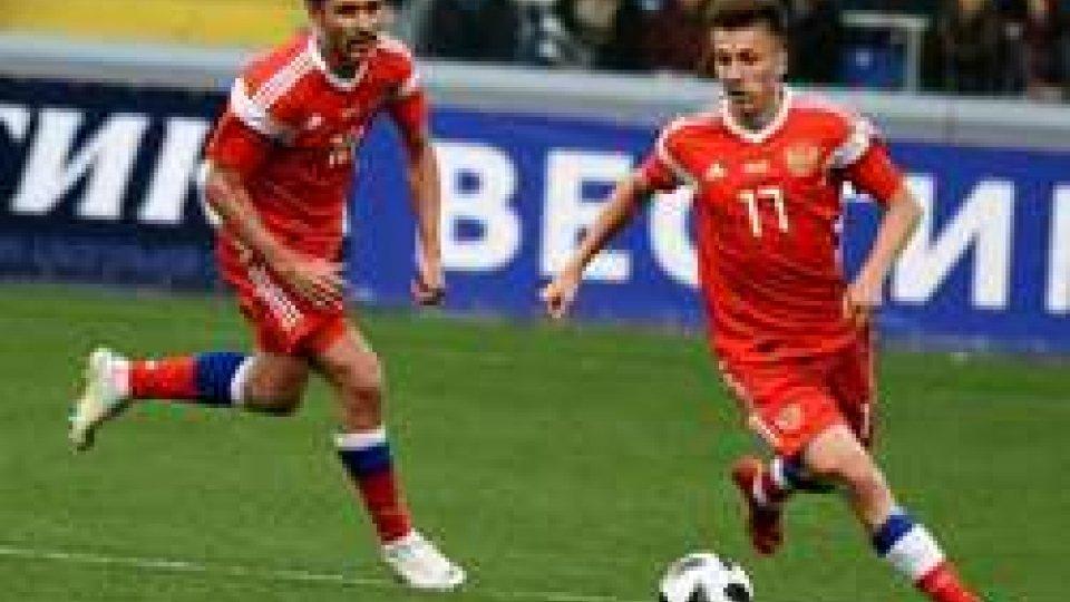 La Russia batte la Spagna
