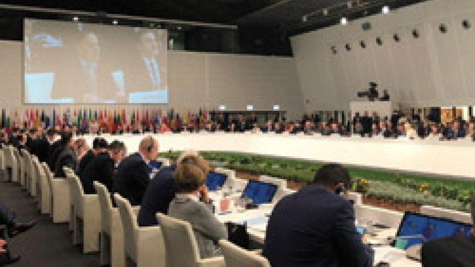 Aperto oggi a Milano il 25° Consiglio ministeriale dell'Organizzazione per la Sicurezza e la Cooperazione in Europa (OSCE)