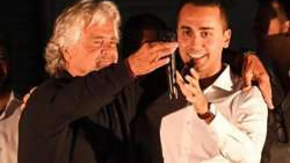 Beppe Grillo e Luigi Di Maio (ph ansa.it)