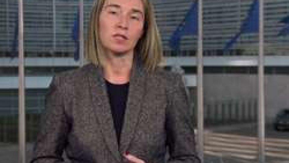 """Ue, il messaggio di Federica Mogherini a San Marino: """"Più forti quando siamo uniti nella diversità"""""""