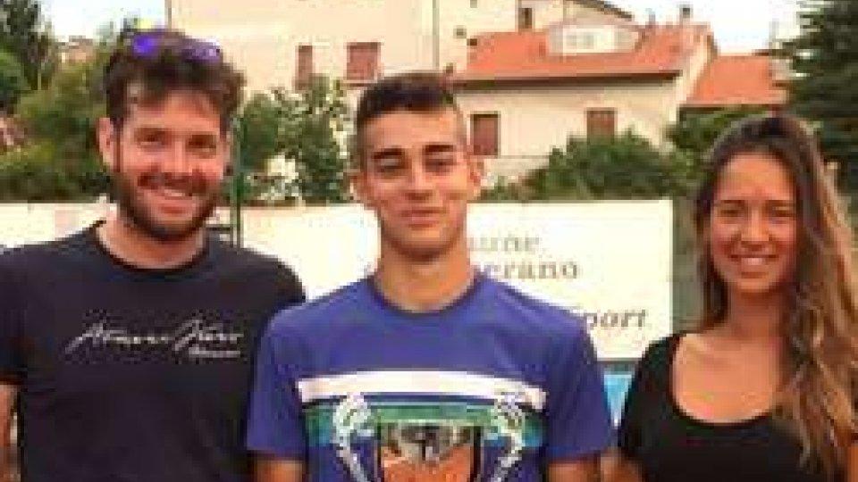 Artimedi fra under 16 nel torneo tennis Europe San Marino. Celiberti fa centro a Camerano