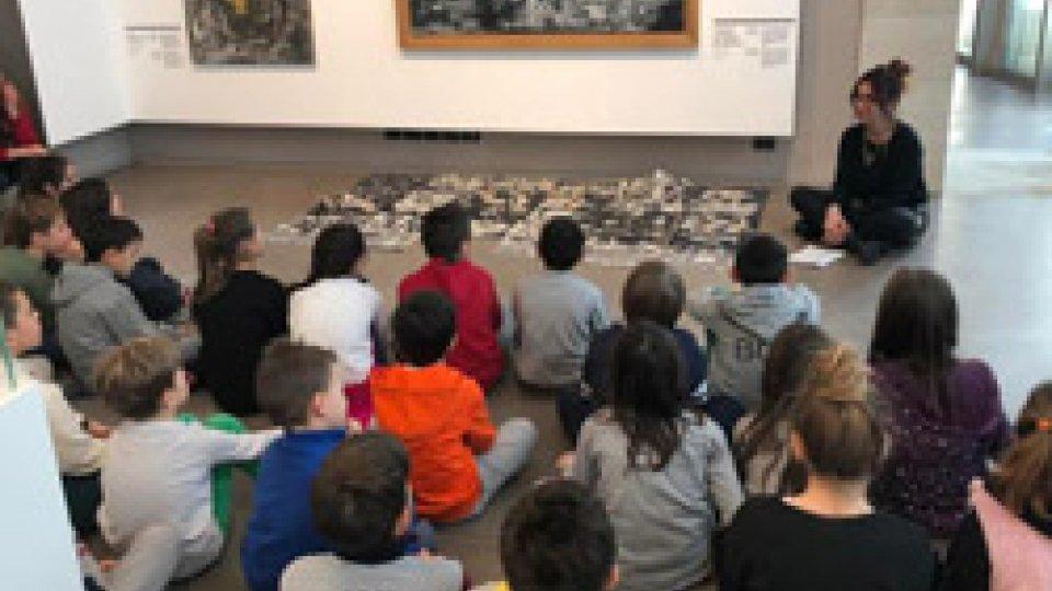 """Galleria Nazionale San Marino """"… bambini siete in un museo,  un luogo magico …"""""""