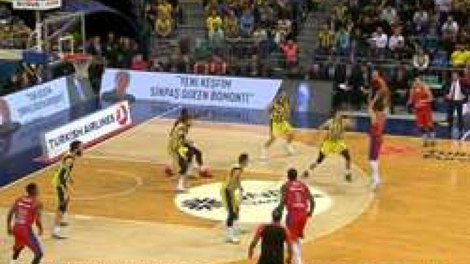 Eurolega, CSKA batte Fenerbahce allo scadere. Panathinaikos vince a Malaga