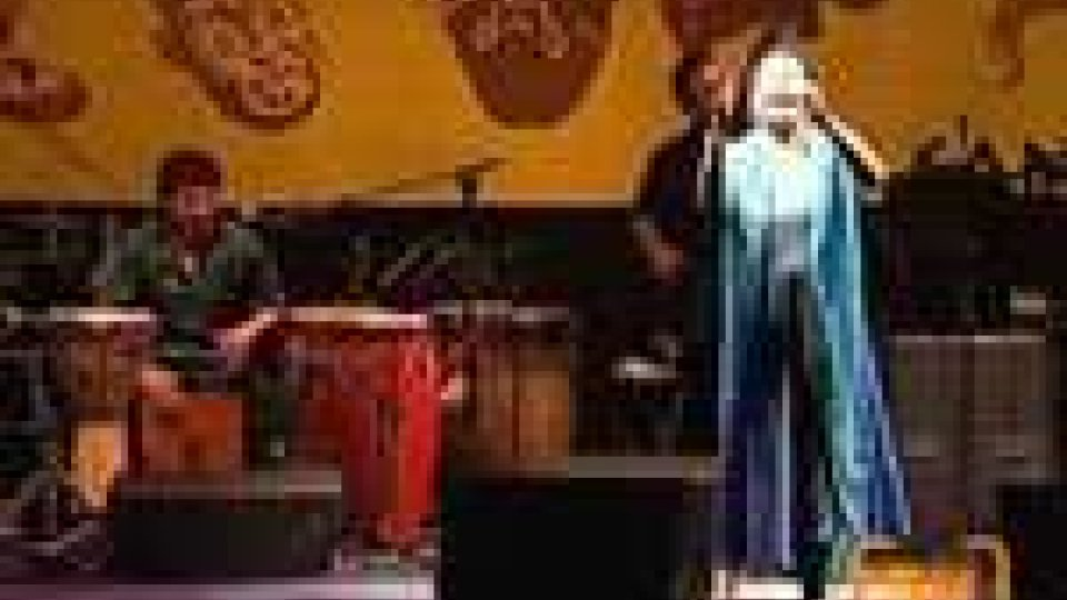 Etnofestival, successo per la peruviana Susana Baca
