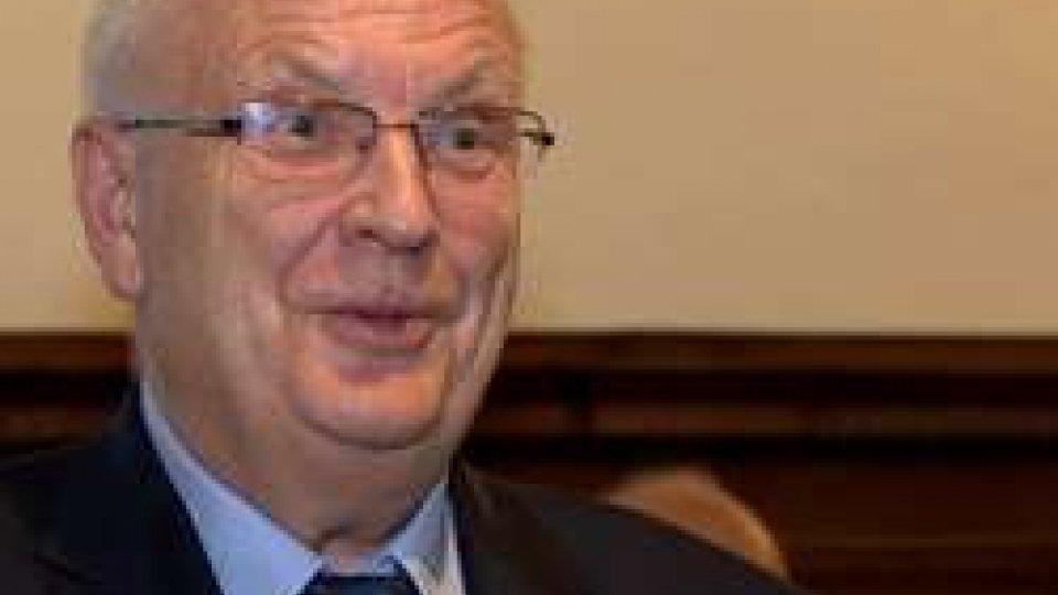 FSAL: Il Presidente dell'Associazione Europea Atletica Svein Arne Hansen a San Marino
