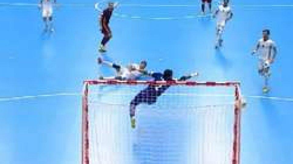 La prima rete della RussiaMondiale futsal: la Russia è la prima finalista