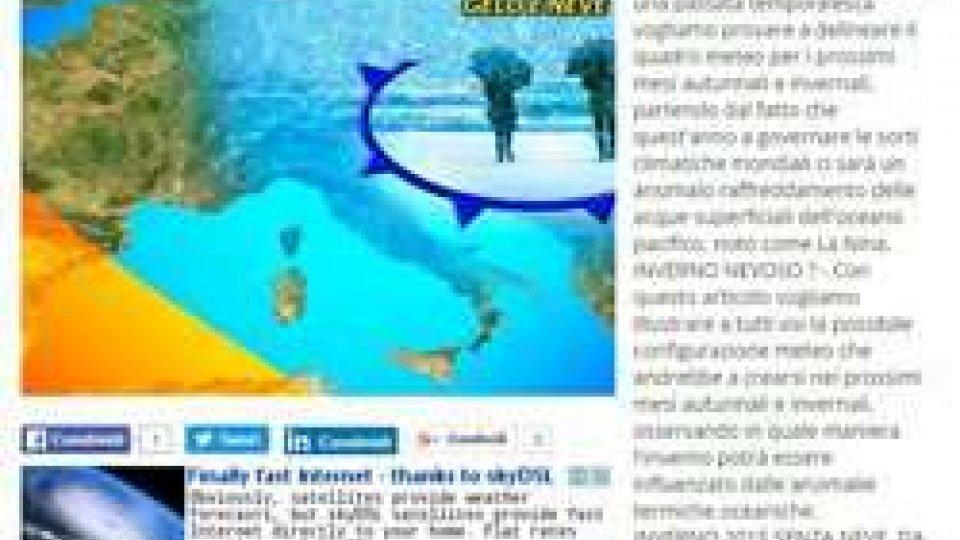 """Meteoterrorismo, Arlotti: """"Stop alle previsioni acchiappa clic"""""""
