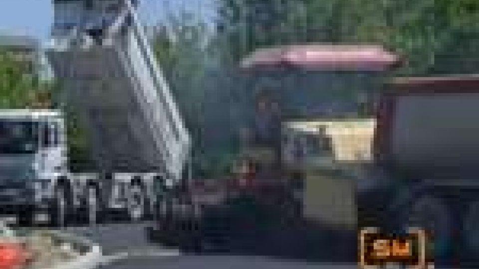 Traffico a Rimini per i lavori alla rotatoria di via CovignanoTraffico a Rimini per i lavori alla rotatoria di via Covignano