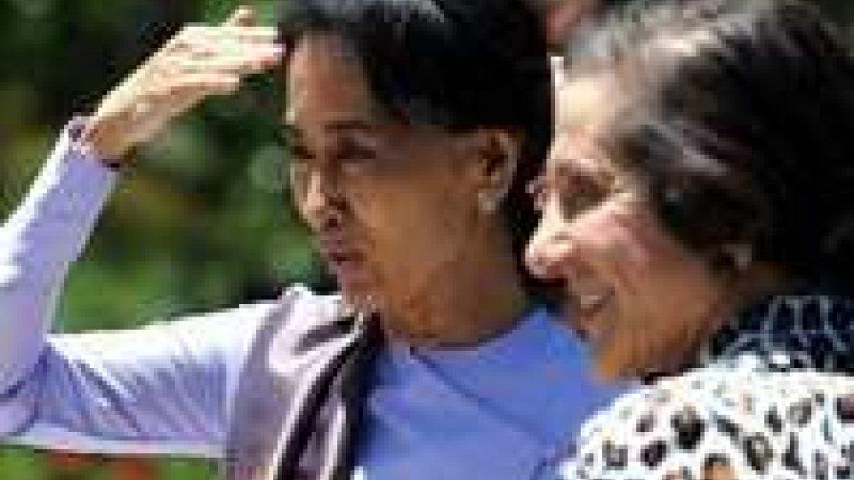 Australia: Aung San Suu Kyi in visita
