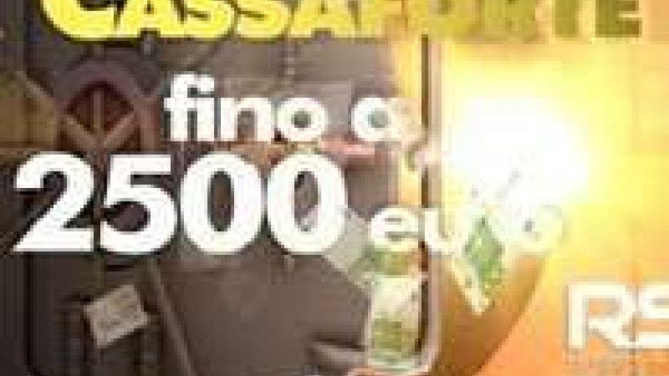 La Cassaforte: superati i mille euro di montepremi