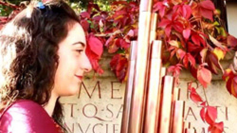 """San Marino Artist: Cristina Alis Raurich, """"La poesia incontra la musica: la sequenza"""""""