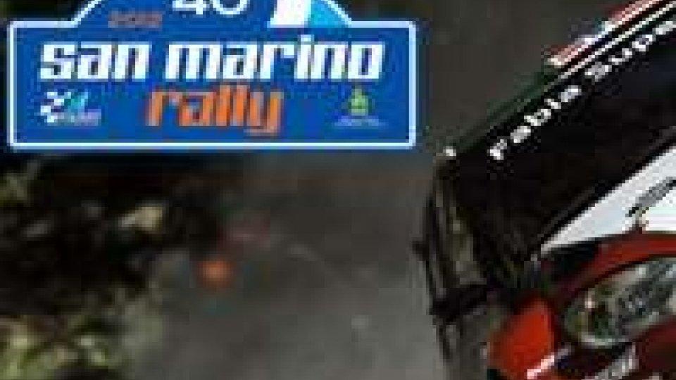 Definite le prove speciali del 40° Rally di San Marino