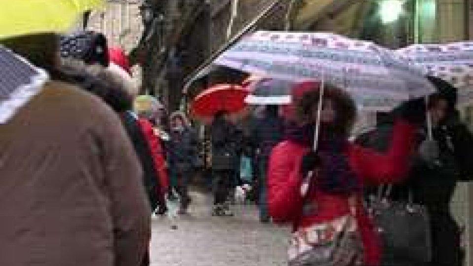 Maltempo sul TitanoMaltempo sul Titano: dopo giorni di siccità, arriva la pioggia